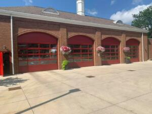 Fire Station Sideview