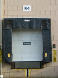 Commercial Sectional Door and Dock Shelter