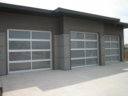 Commercial Sectional Doors Full View Design