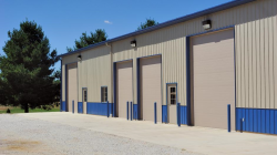Commercial Sectional Doors with Ribbed Panel Design