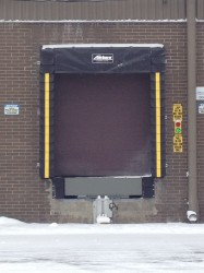 Dock Shelter and Truck Restaint