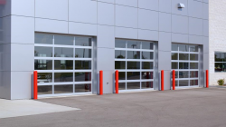 Full View Aluminum Sectional Doors
