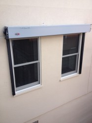 Rolling Steel Fire Shutters Exterior Mounted