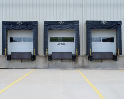 Sectional Doors with Dock Seals